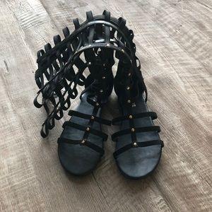 New rampage black sandals